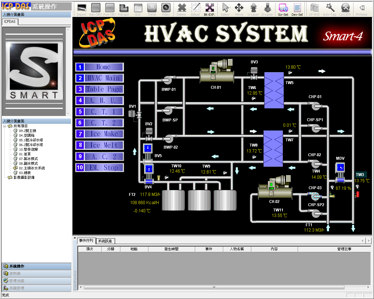 HMI Page View (Click to show the larger view) #261BB0